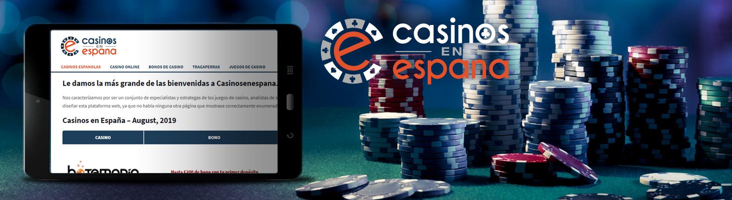 Lanzamiento de casinosenespana.com!