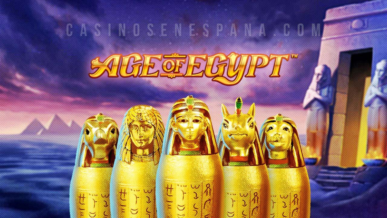 Age of Egypt tragamonedas