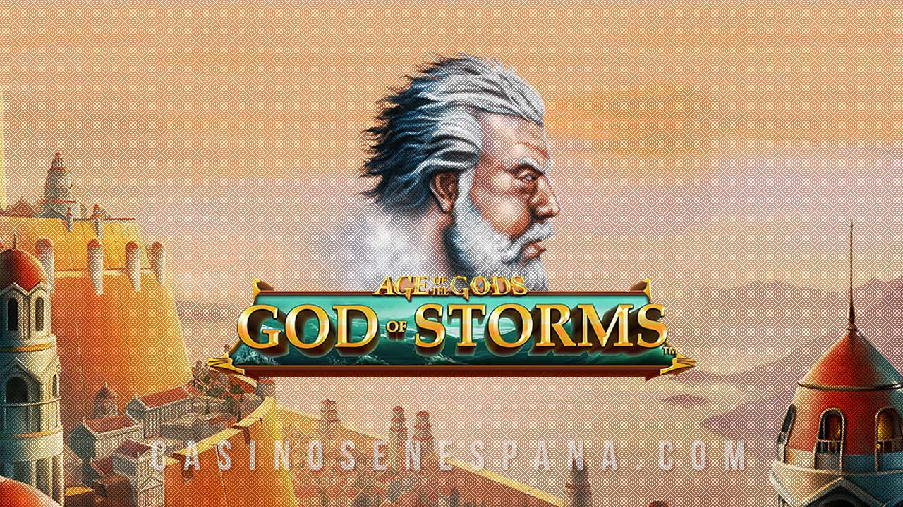 Age of Gods; God of storms tragamonedas