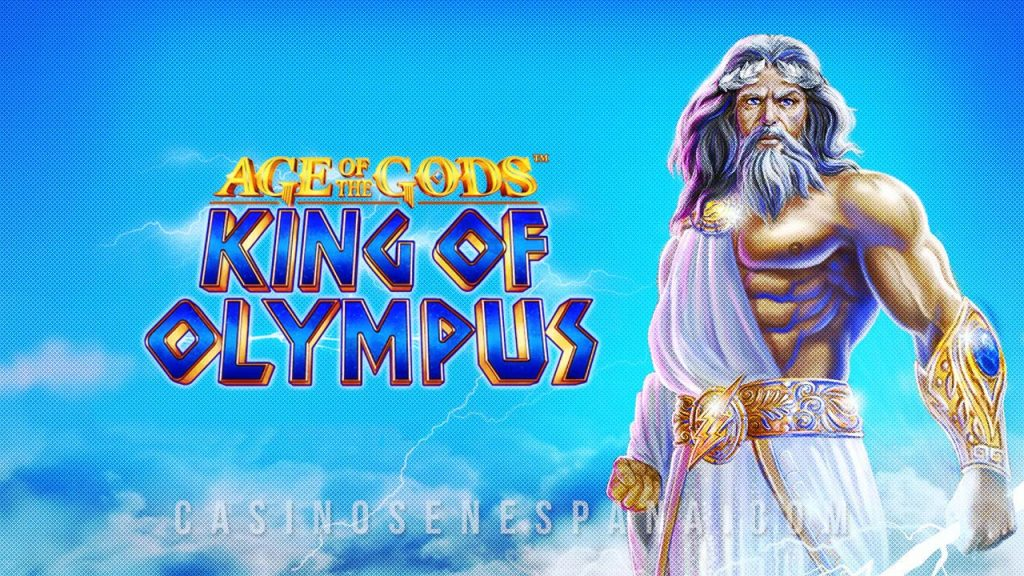 Age of Gods; king of olympus tragamonedas