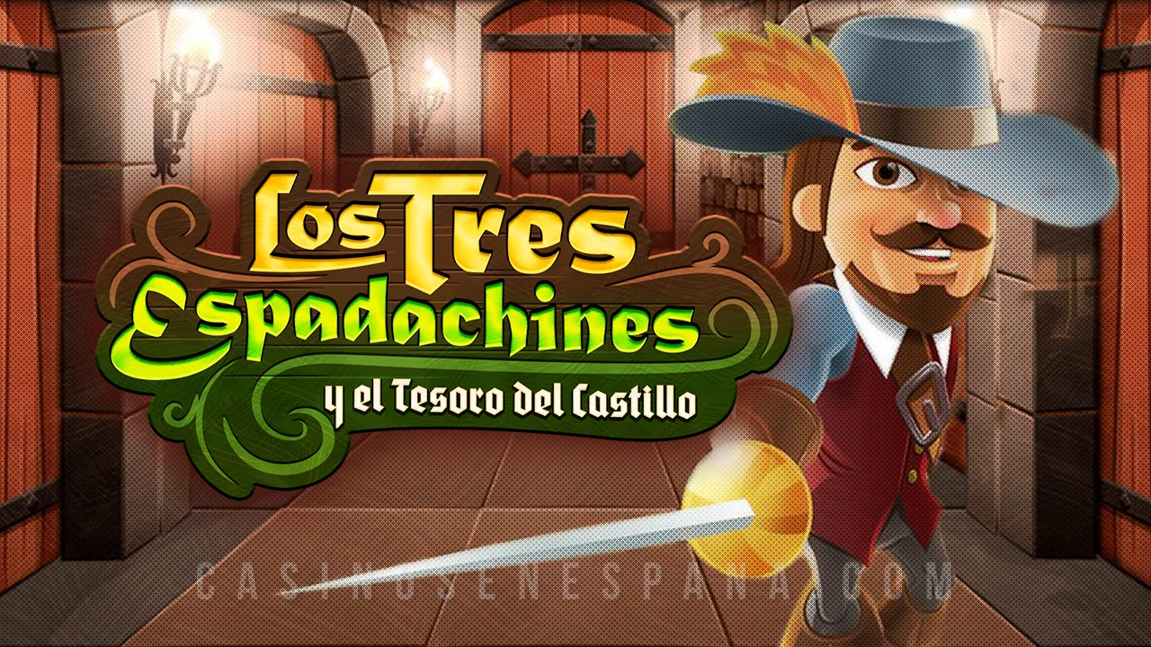 Los Tres Espandachines y el tesoro del castillio Tragamonedas