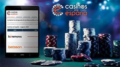 Última noticia: Lanzamiento de casinosenespana.com!