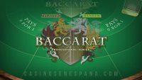 Banner de juego de Baccarat-Pro