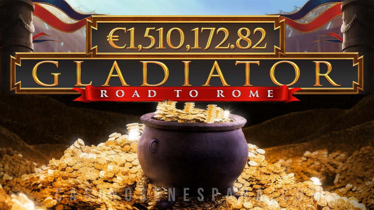 Gladiator: Road to Rome jackpot