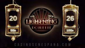 Banner de juego de Lightning roulette