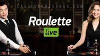 Banner de juego de Roulette live