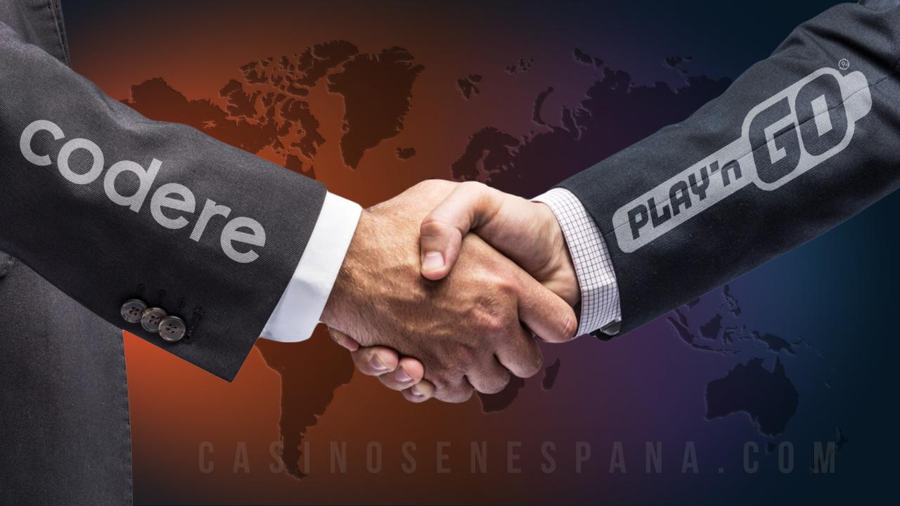 Play'GO y Codere casino
