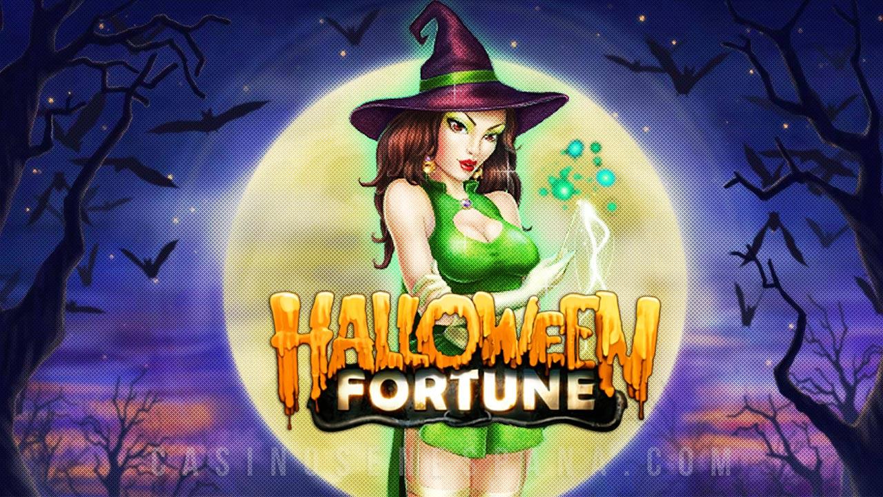 Halloween fortune tragaperras