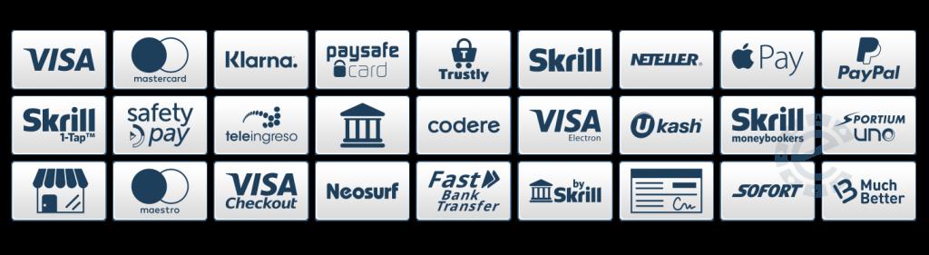 Medios de pago en casinos en espana