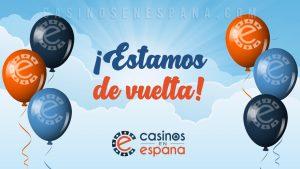 Casinos en Espana Estamos de vuelta
