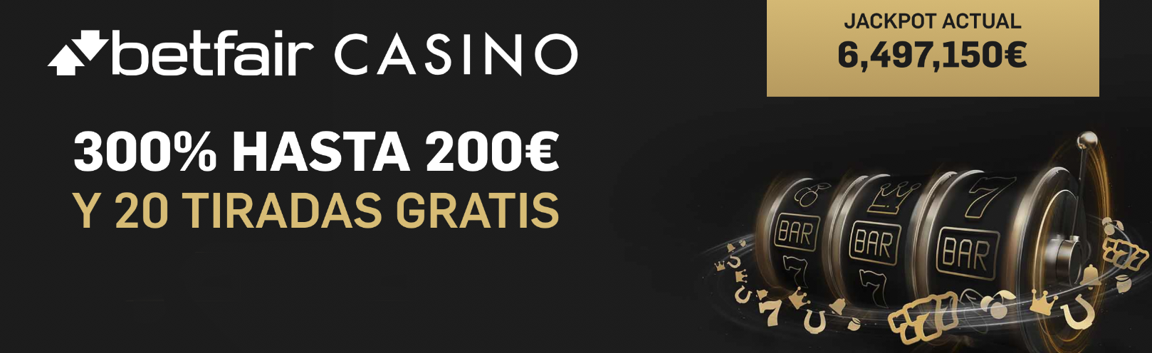 betfair casino bonos